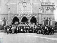 Temperance Gathering at Albermarle Baptist Church, Scarborough